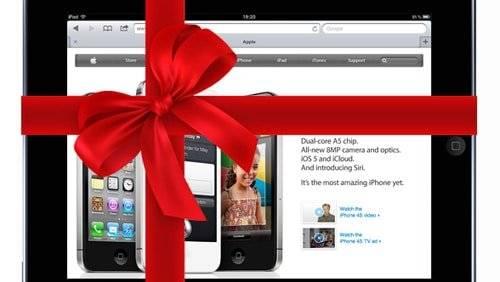 Christmas 2011- MacBook Air at Peak, iPad Slows Down