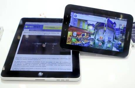 Samsung Copied Apple For its New TV Ad of Galaxy Tab