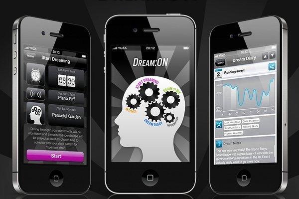 dream on iphone