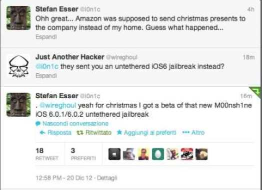 Untethered Jailbreak for iOS 6.0.1/6.0.2