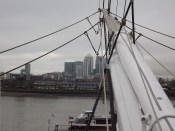 looking towards Canary Wharf