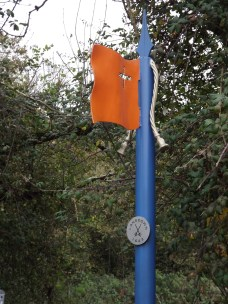 way marker for 1643 Battle of Lansdowne