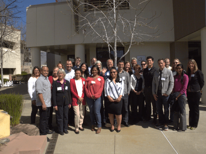 The East Bay Sustainability Circle participants take a tour of Bayer.