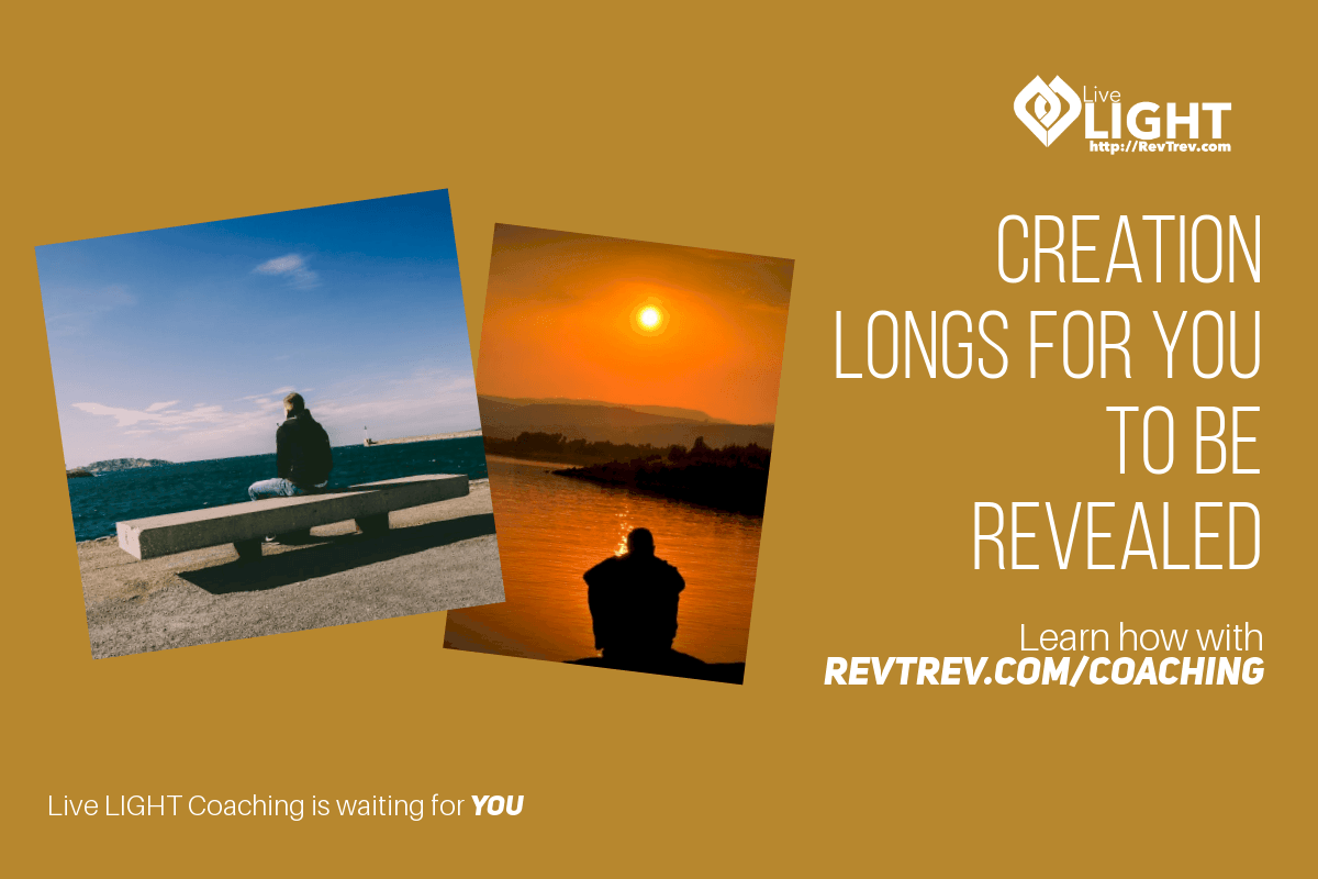 Creation longs for you to be revealed via @trevorlund