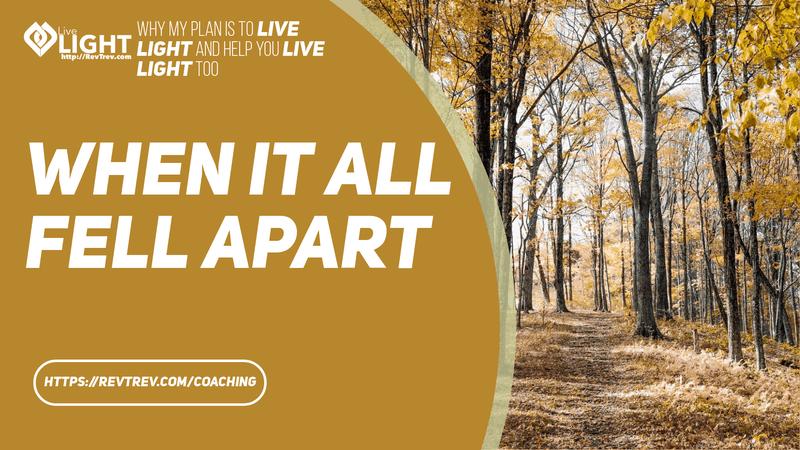 Live LIGHT when it all fell apart