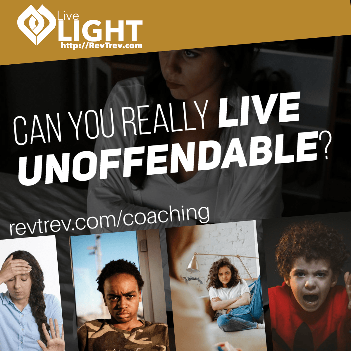 Can you really live unoffendable? via @trevorlund