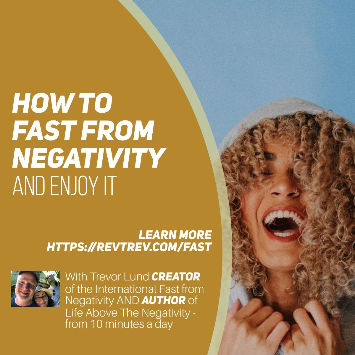 How to fast from negativity and enjoy it via @trevorlund