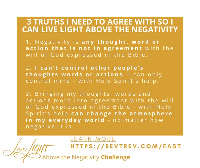 Live Light above the negativity Challenge