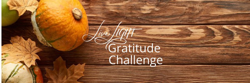 Live LIGHT Gratitude Challenge