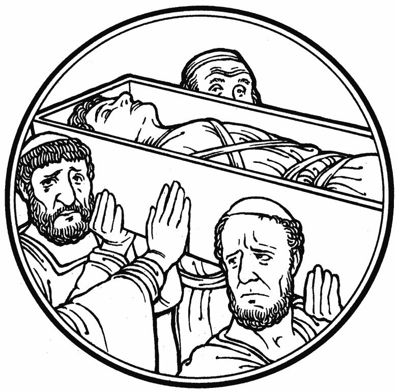 "» Pentecost 3-""Death to Life"" (Luke 7:11-17) Rev. Tucher"