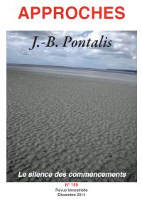 Couverture du numéro sur J.B Pontalis