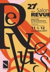 Affiche du Salon de la Revue 2017