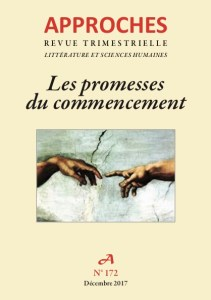 Les promesse du commencement