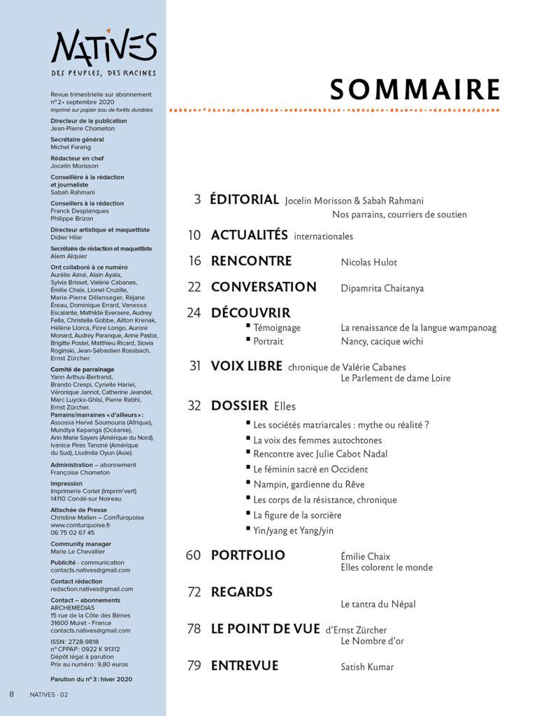 Feuilleter Magazine Point De Vue : feuilleter, magazine, point, NATIVES-N02, NATIVES