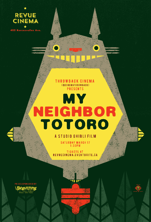 My Neighbour Totoro Poster