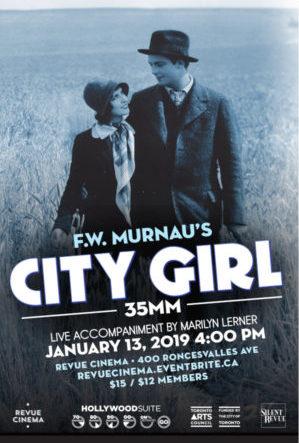 city girl poster
