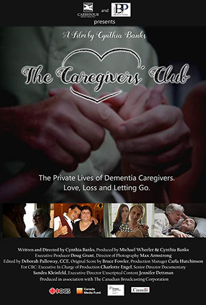 the caregivers club poster