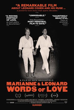 Marianne & Leonard Words of Love poster