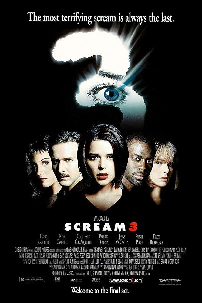 Scream 3 poster