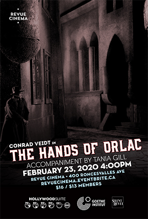 hands of orlac poster 2020