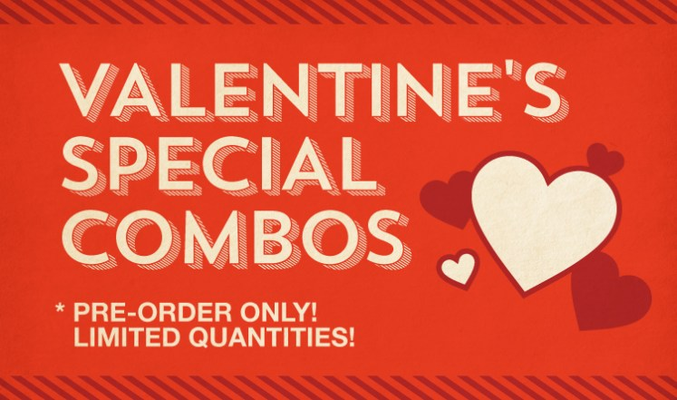 Valentine's Special Combos