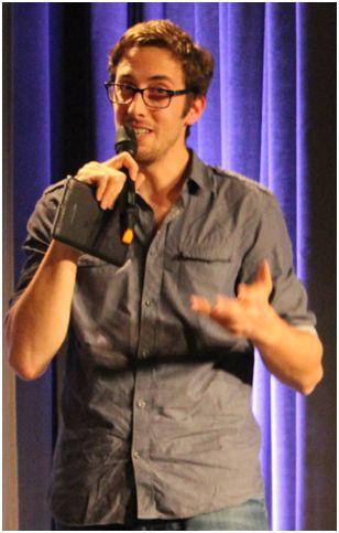 Nicolas Nedellec, lors d'une conférence