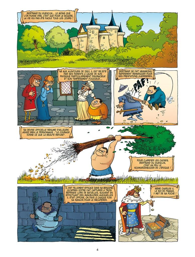 Extrait de la bande dessinée Petites histoires, Grands destins