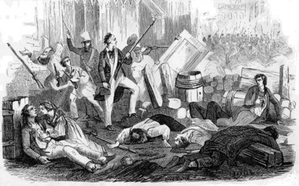 L'insurrection républicaine de 1832