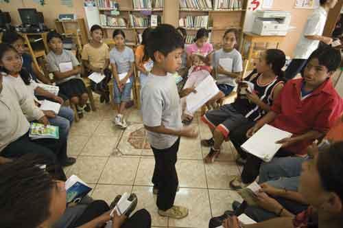 A new book club in Chiché, El Quiché