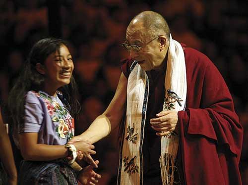 Meeting the Dalai Lama