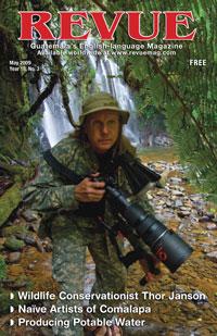 Wildlife conservationist Thor Janson (page 12) www.bushmanollie.com