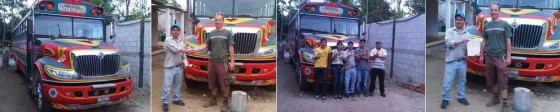 Viaventure donates bus to Global Visionaries