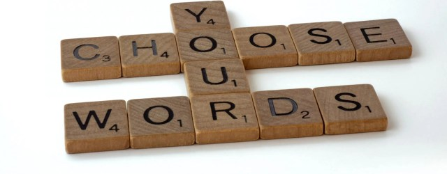 """Lettres Scrabble """"You choose your words"""""""