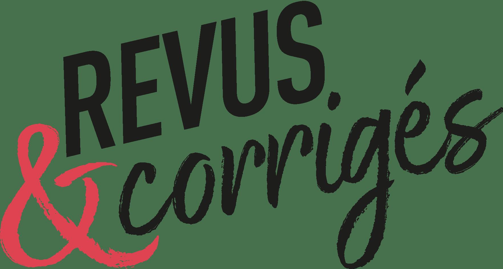 Revus & Corrigés