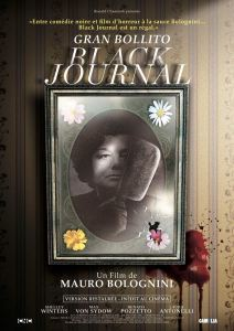 black journal affiche