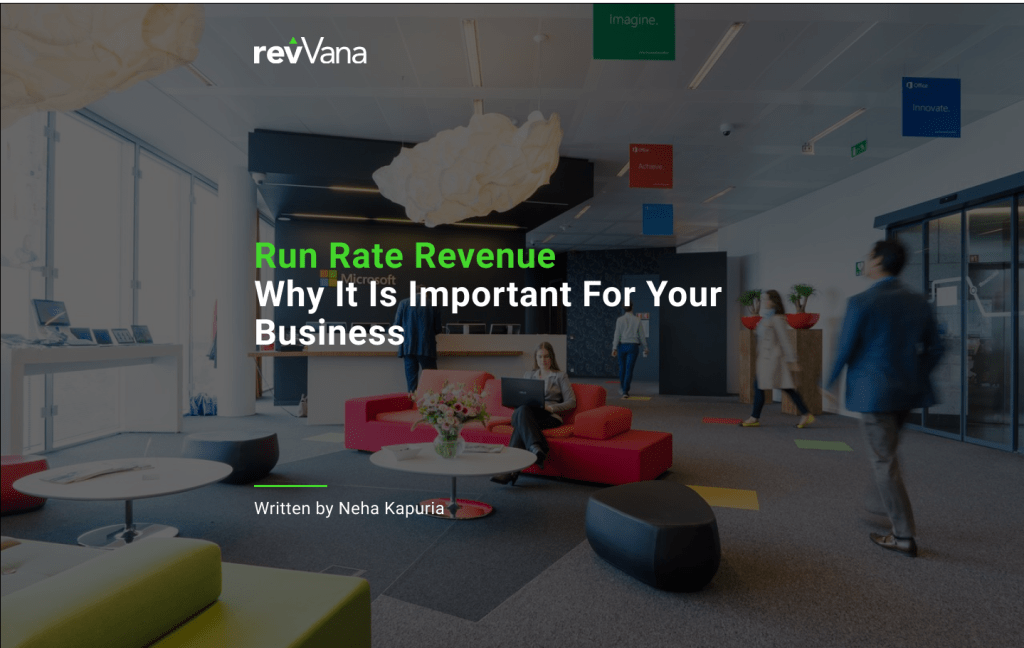 run rate revenue
