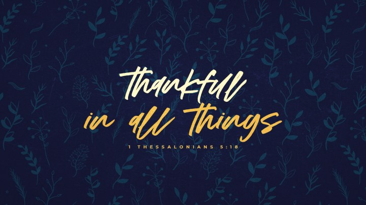 Thankful In All Things Harvest Wall-Subtitle