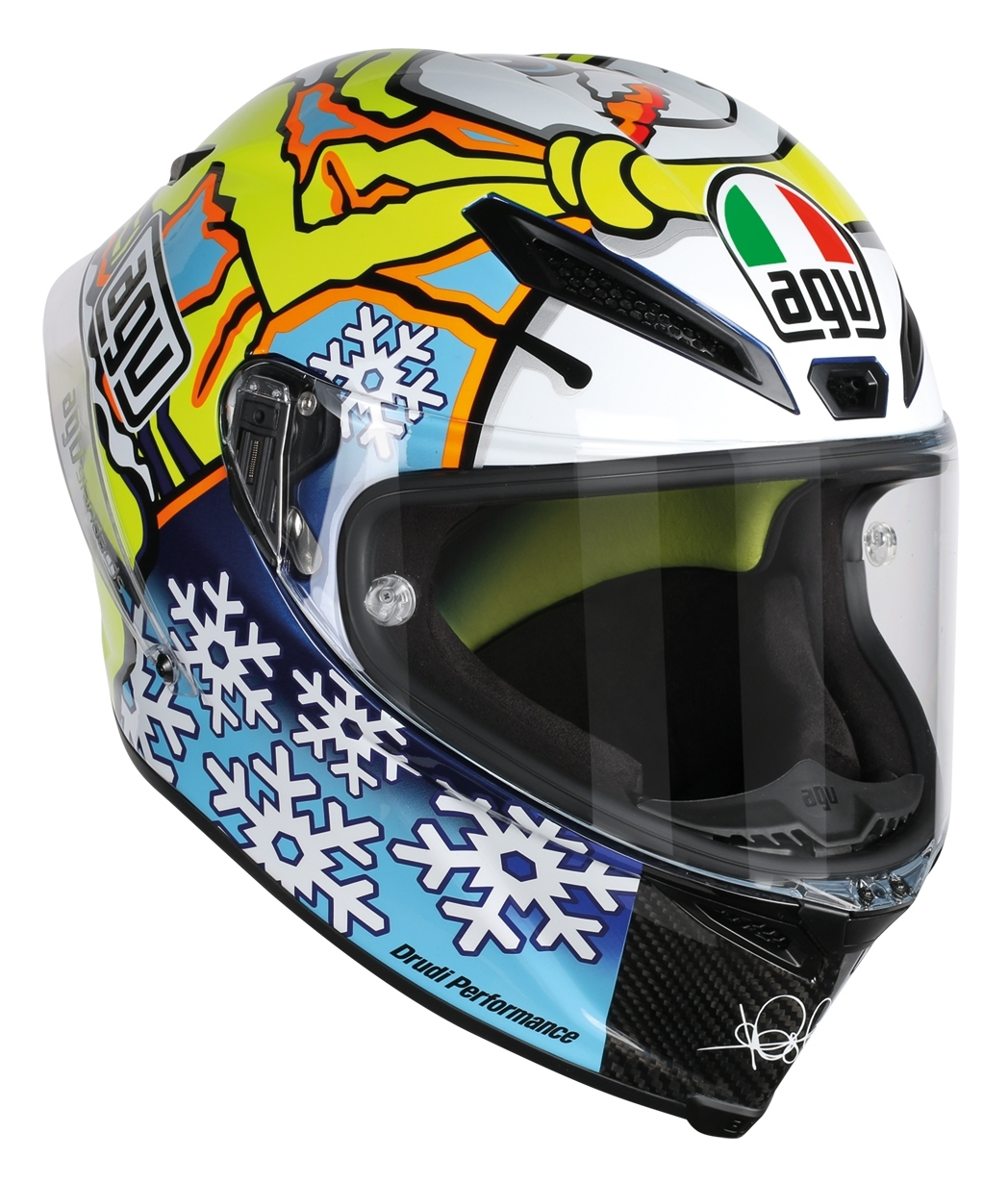 Winter Bettdecken Test 2016 Agv Pista Gp Winter Test Snow Man 2016 Helmet Size Xs