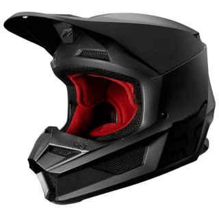 Fox Racing 2020 Youth V1 Matte Black Helmet