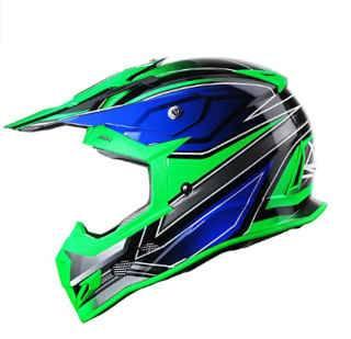GLX GX23 Dirt Bike Off-Road Motocross ATV Motorcycle Helmet