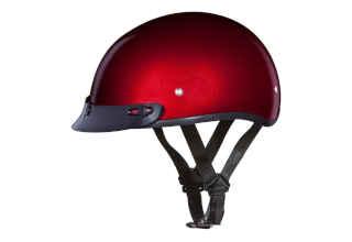 Daytona Helmets Half Skull Cap Motorcycle Helmet