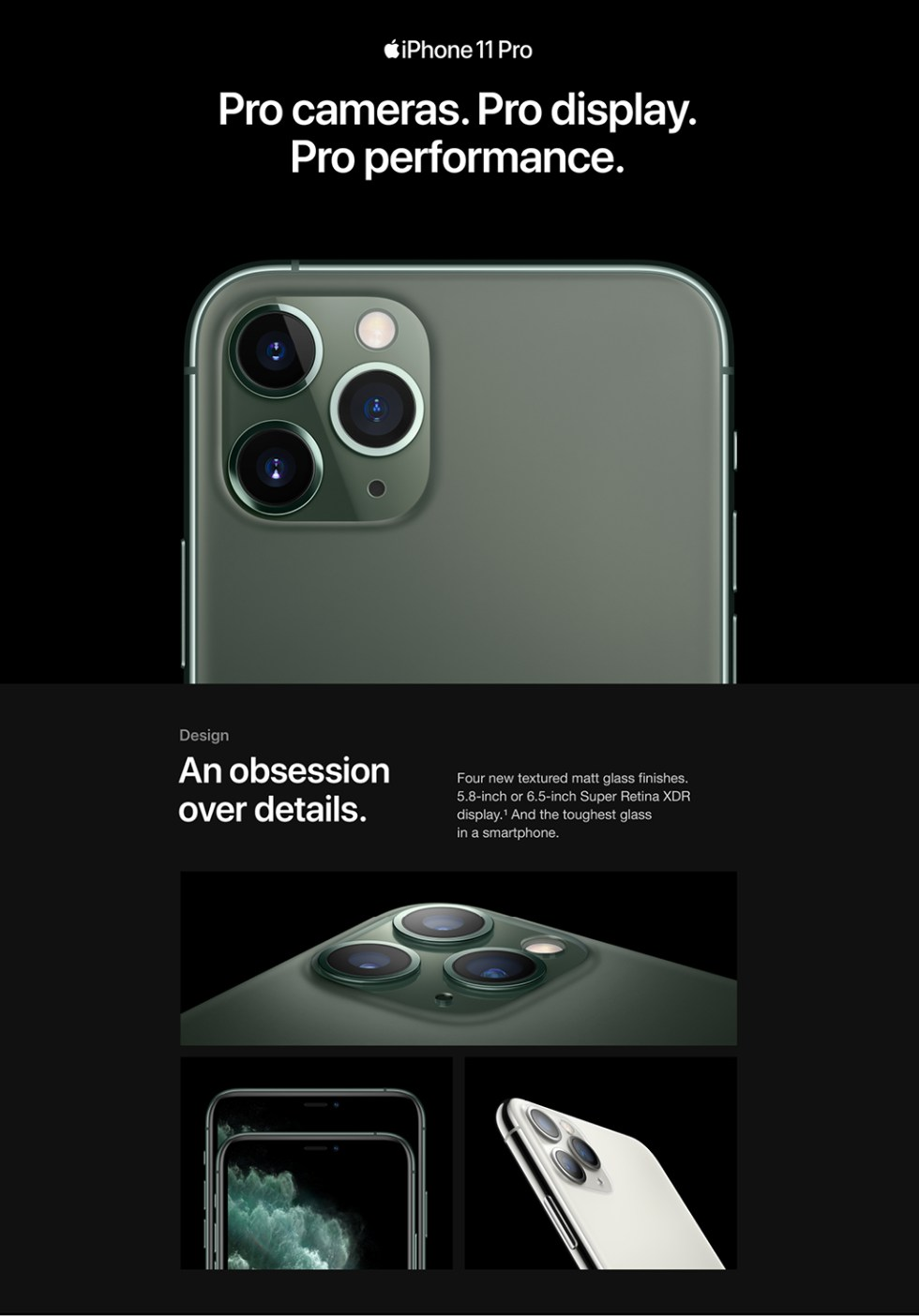 Apple iPhone-11 Pro Max Product Features