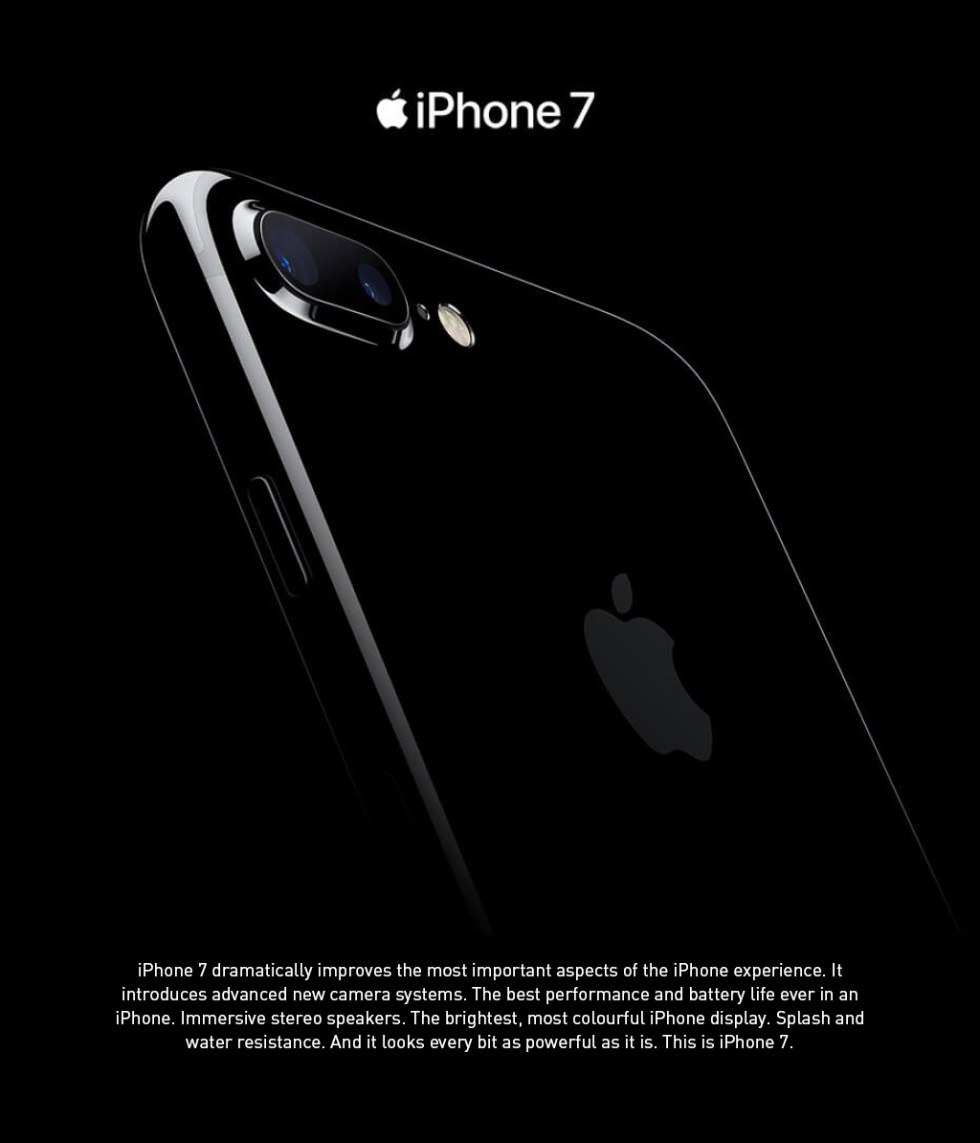 Apple iPhone 7 Product Features