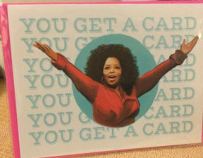 oprah credit card