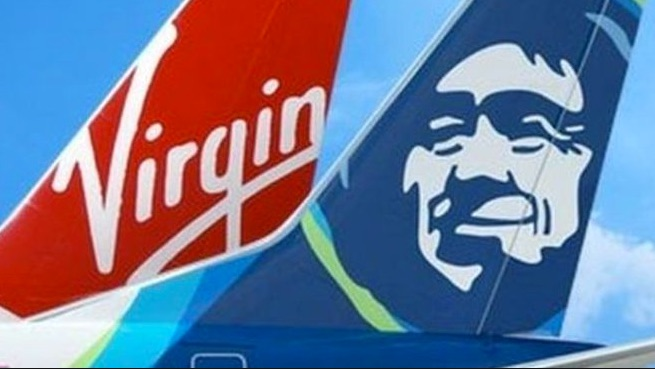 10,000 Free Alaska Miles or Free $100 Credit for linking Virgin America Account