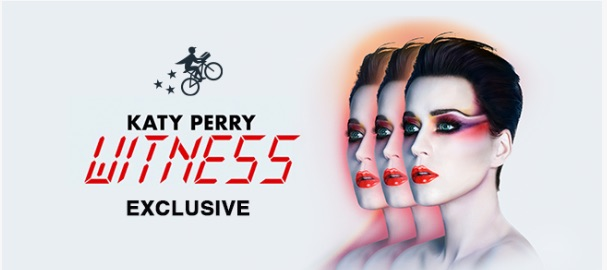 Win Exclusive Katy Perry Witness Before Anyone Else With Delivery App