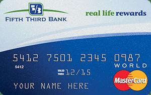 Fifth Third Real Life Rewards MasterCard