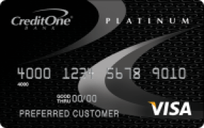 CreditOne Gas Rewards Visa