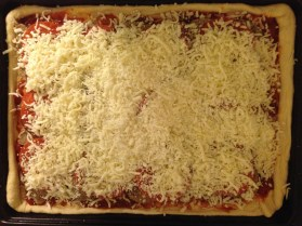 ½ a kg of mozzarella cheese