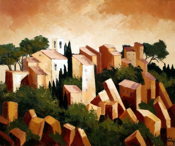 Seattle Art Galleries Jean Triolet Original Oil Paintings Provence Fine